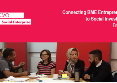 Connecting BME Entrepreneurs to Social Investment - Briefing