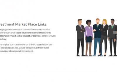 SIMPL - Social Investment Market Place Links website