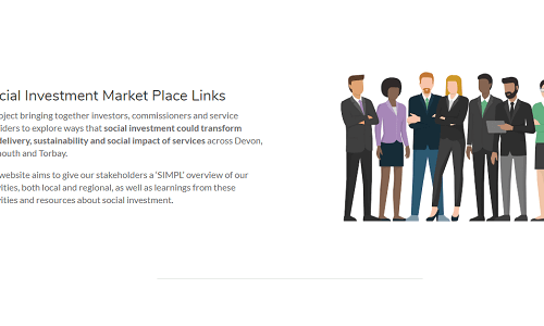 SIMPL - Social Investment Market Place Links website