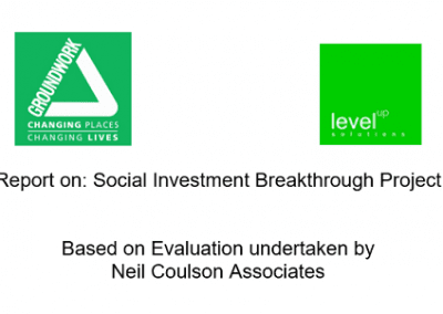 Social Investment Breakthrough Project - Evaluation Report