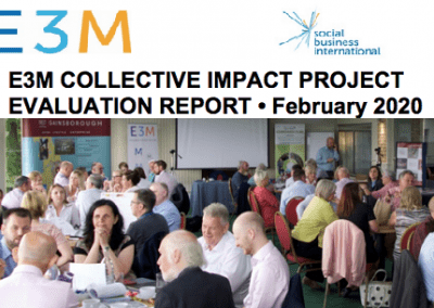 E3M Collective Impact Project - Evaluation Report